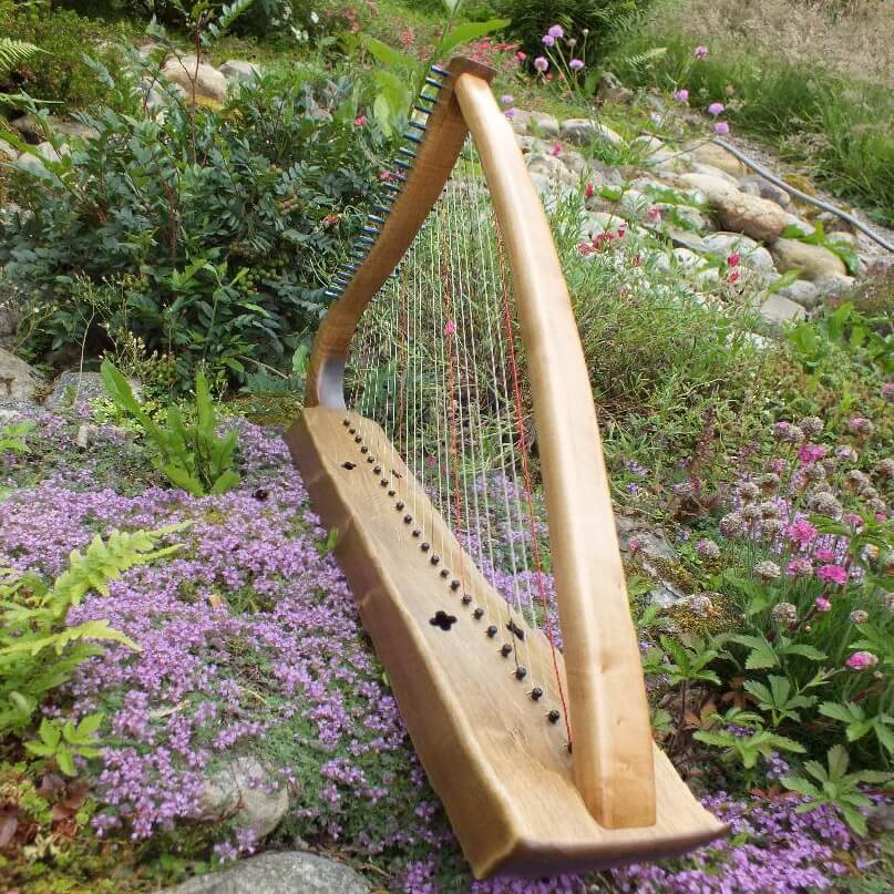 Harpe médiévale